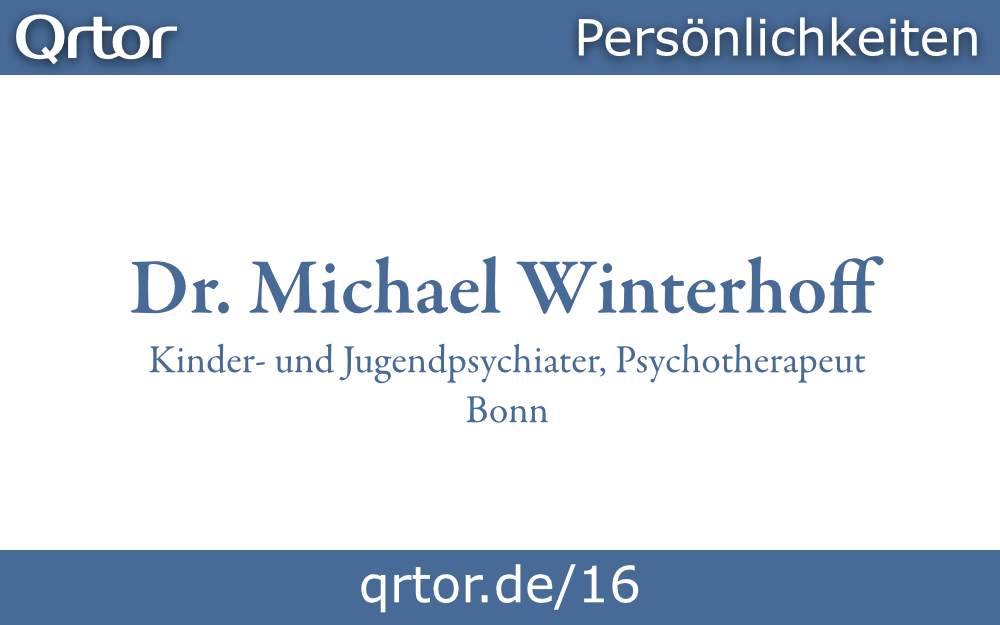 Dr. Michael Winterhoff